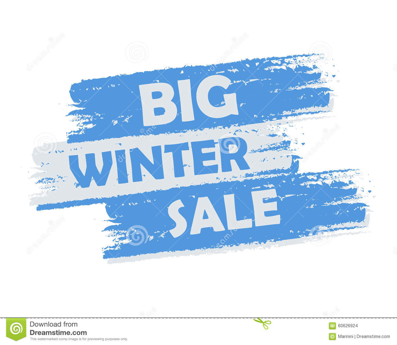 Sale: Big Winter Sale Stock Photo. Image Of Advertise, Offer