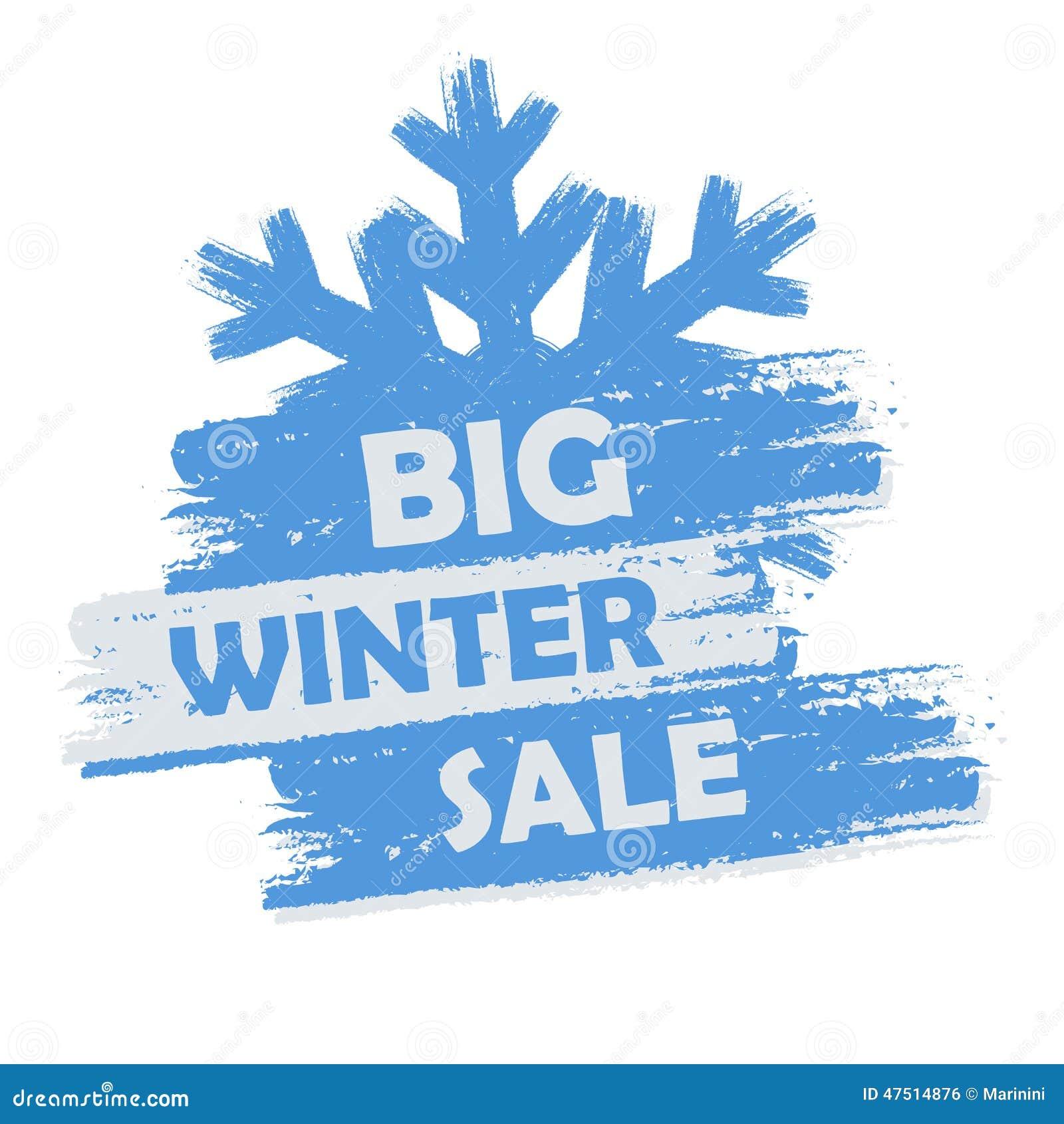 Big Winter Sale Stock Illustration Image 47514876
