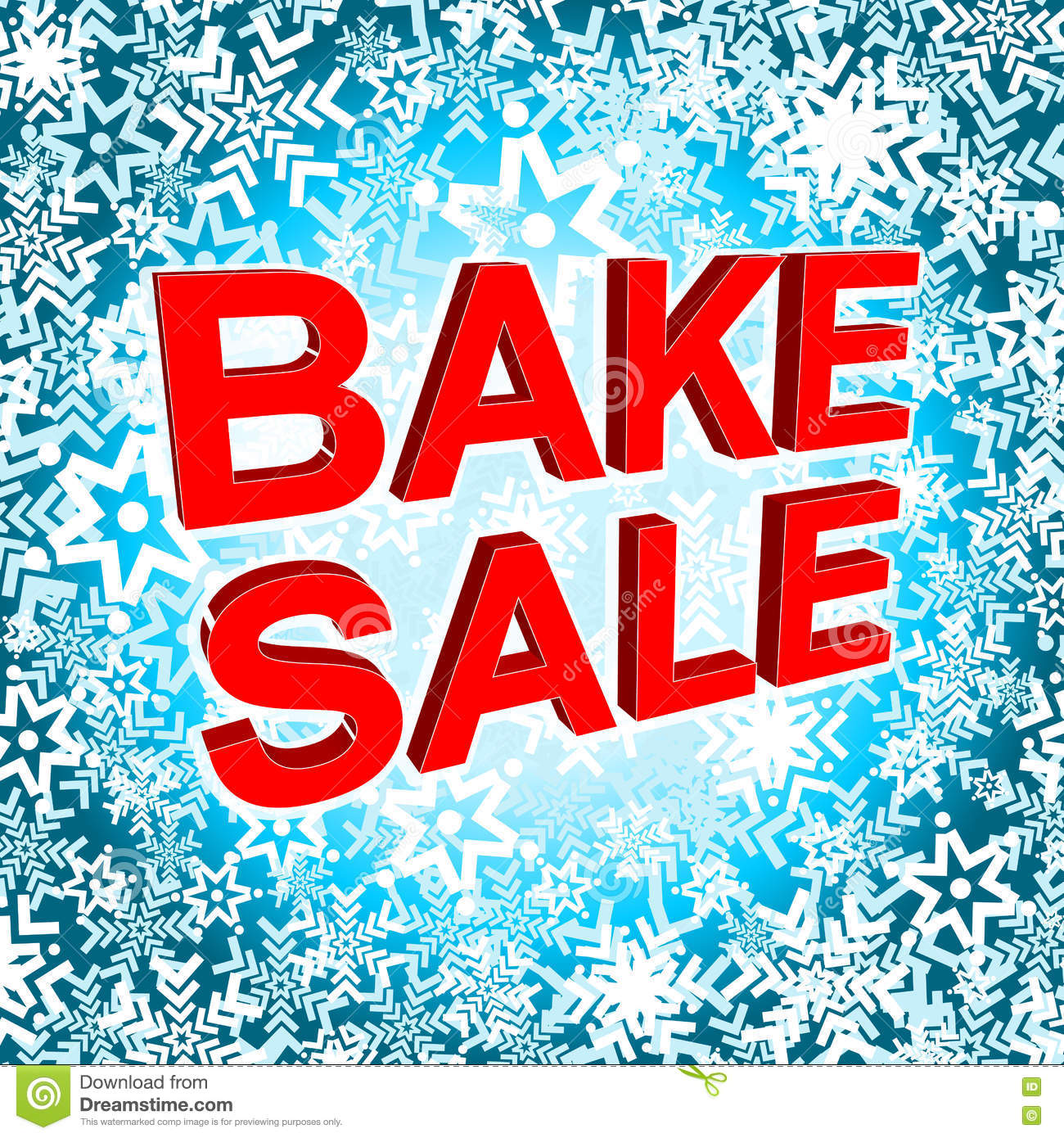 bake poster stock photo image  big winter poster bake text advertising vector banner royalty stock photography