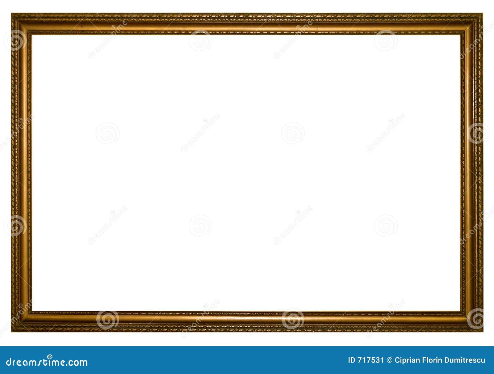 Big wood frame stock image image 717531 for Large a frame