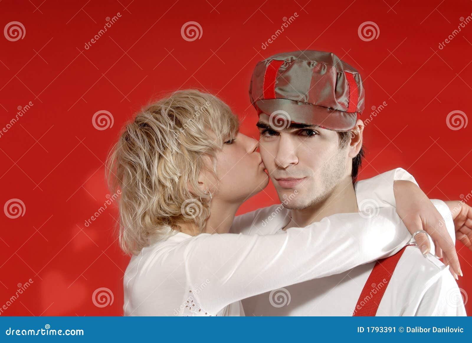 Biglietti di S. Valentino ragazza e ragazzo
