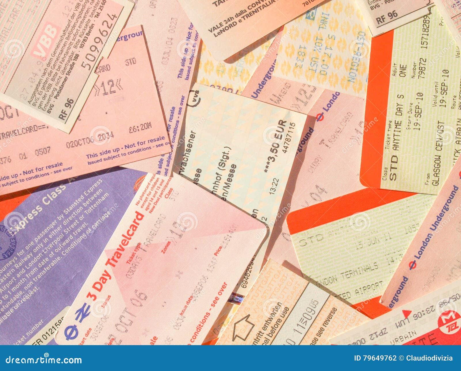 finest selection 895e1 c860f Biglietti Di Trasporto Pubblico Fotografia Editoriale ...