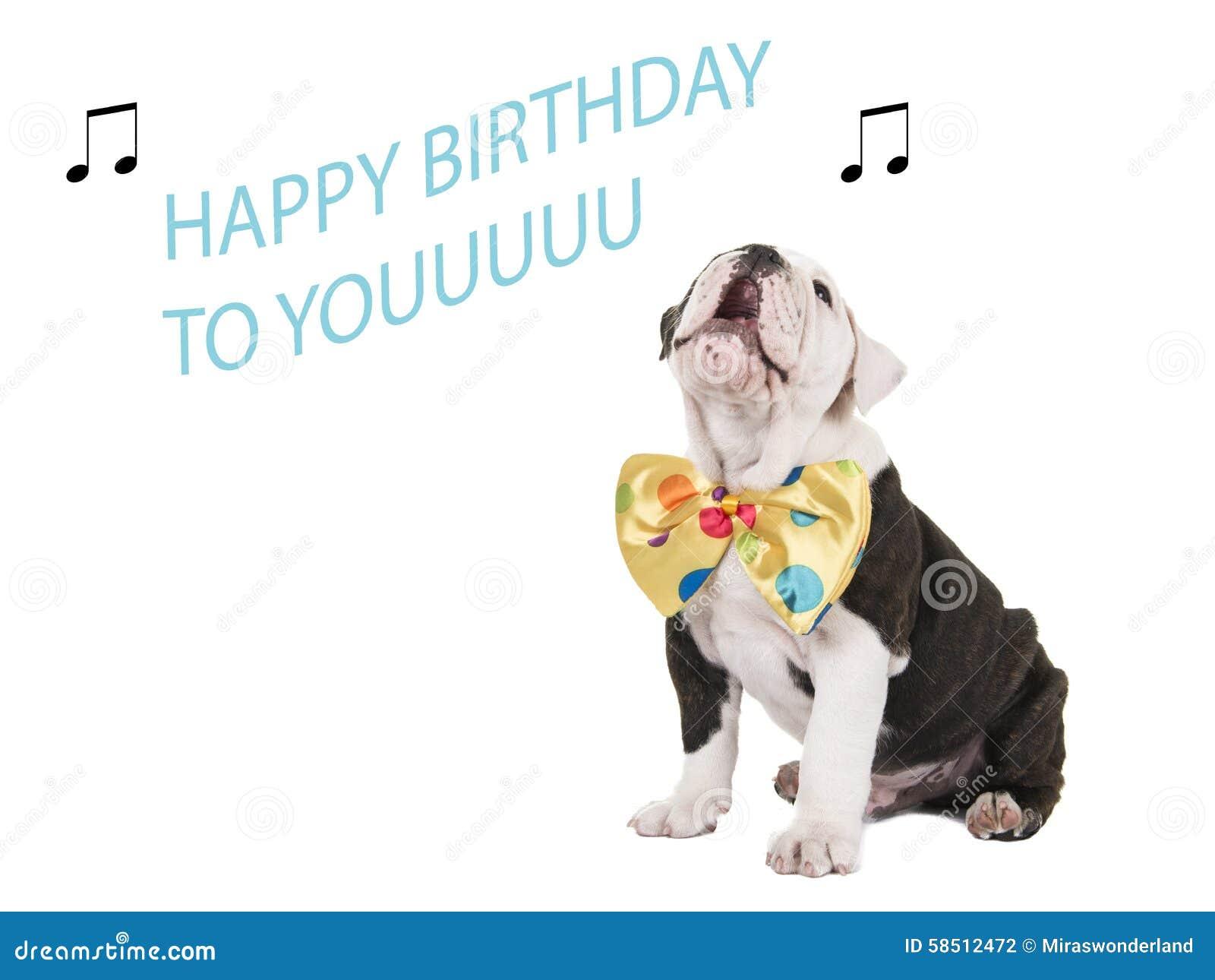 Biglietto Di Auguri Per Il Compleanno Con Il Canto Inglese Del