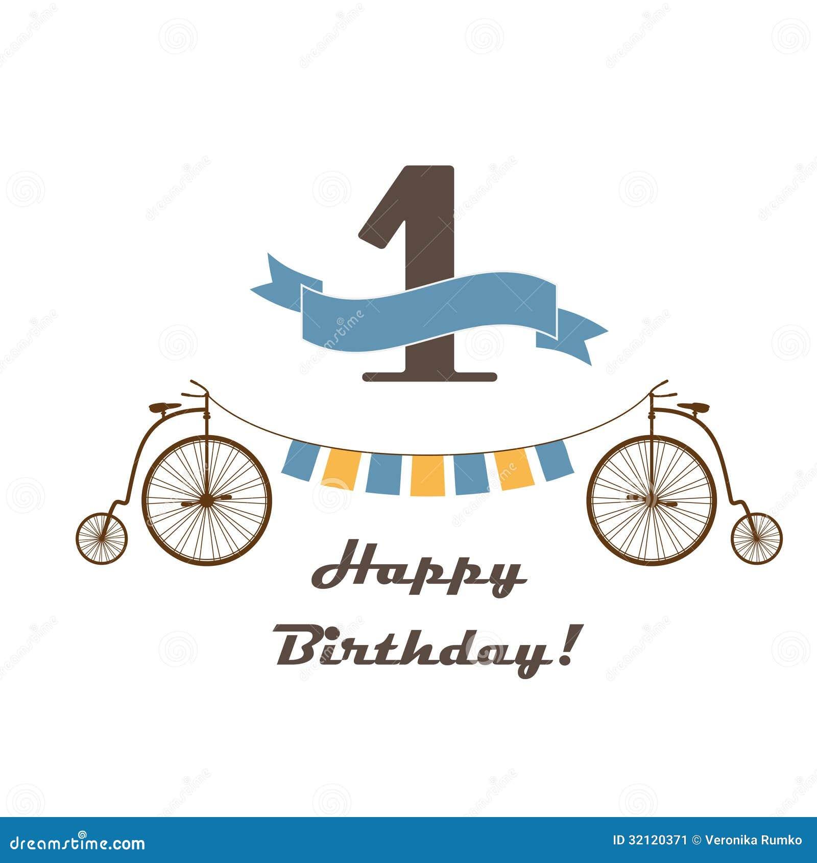 Preferenza Biglietto Di Auguri Per Il Compleanno Felice Per Il Primo  JC58