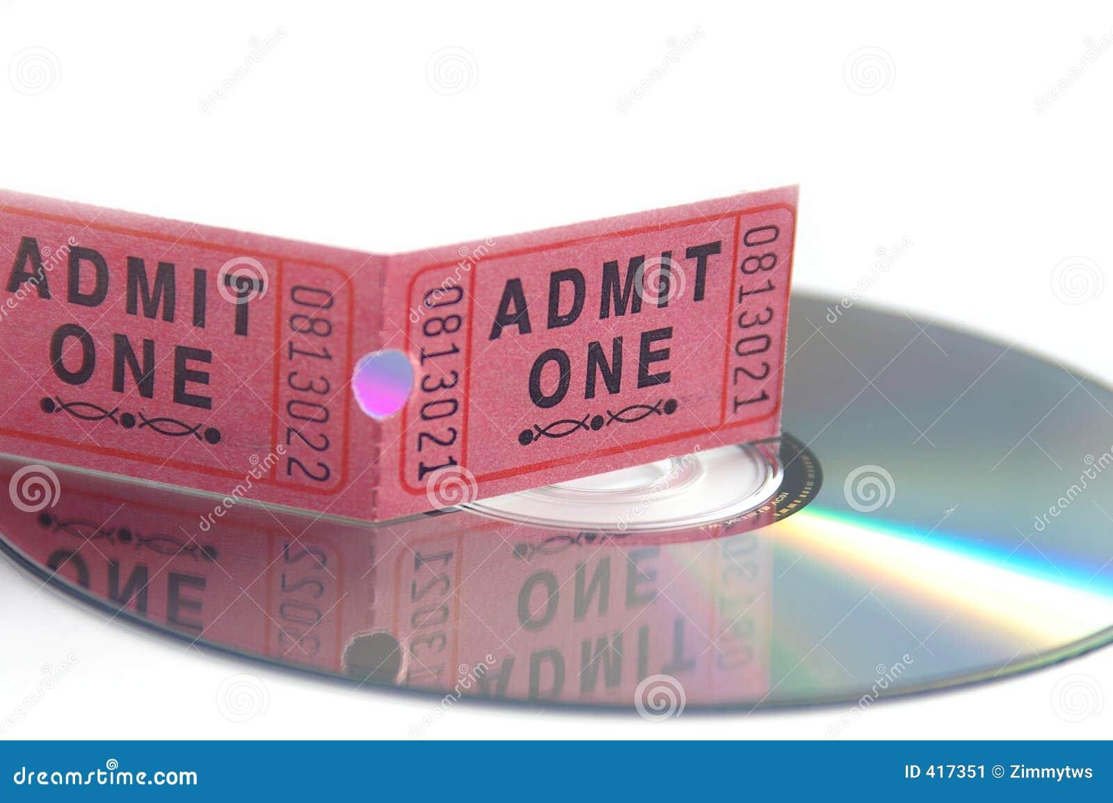 Biglietto di film e DVD
