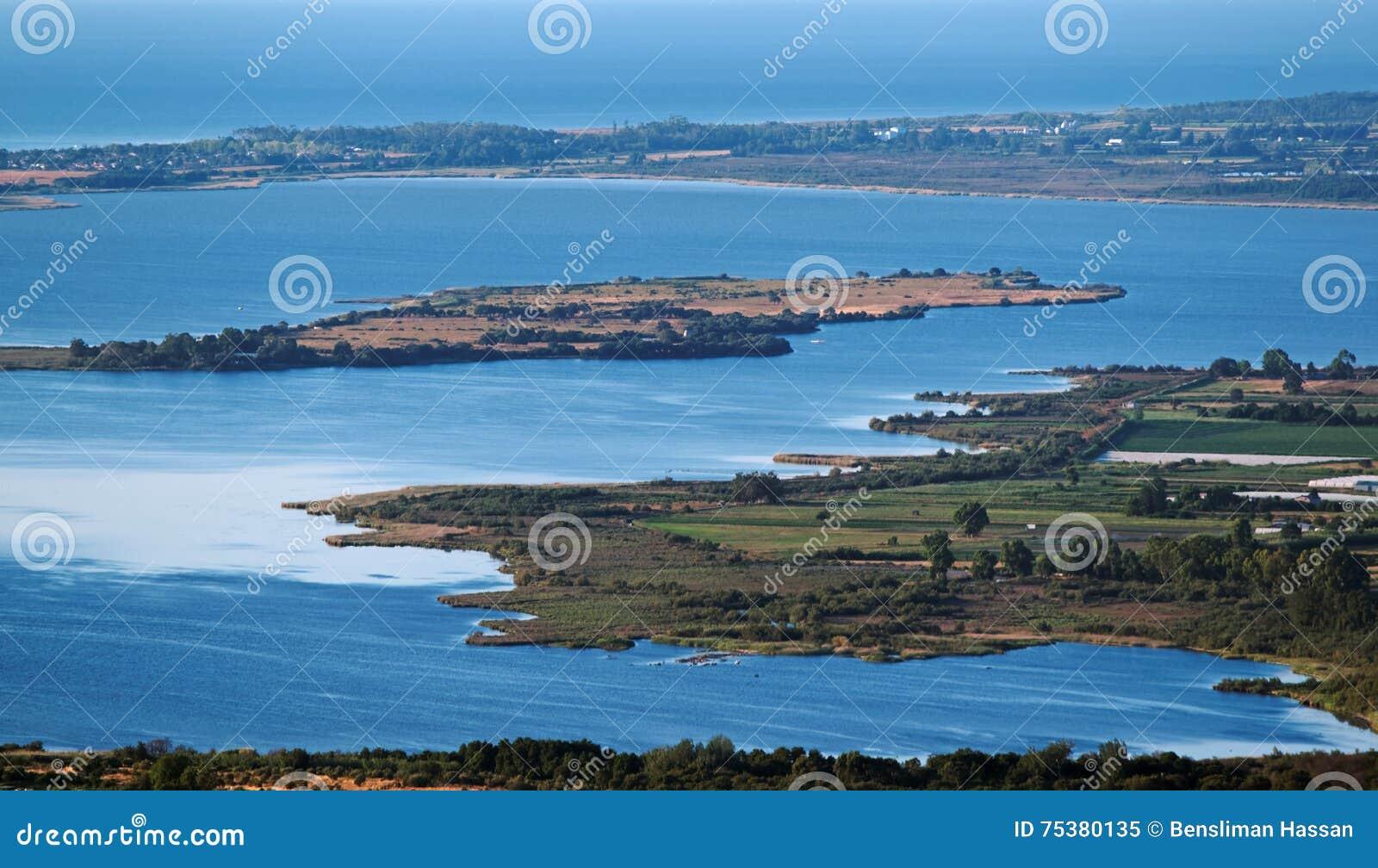 Biguglia laguna w Corsica