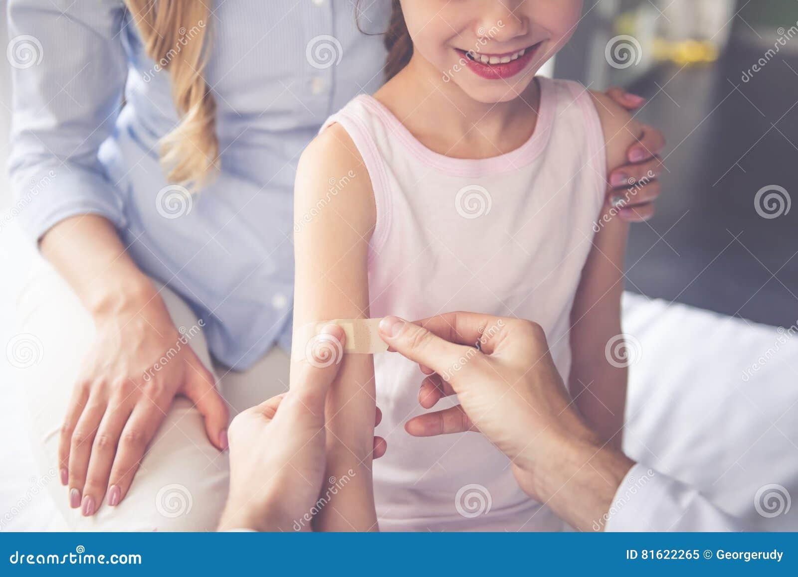 Bij de pediater