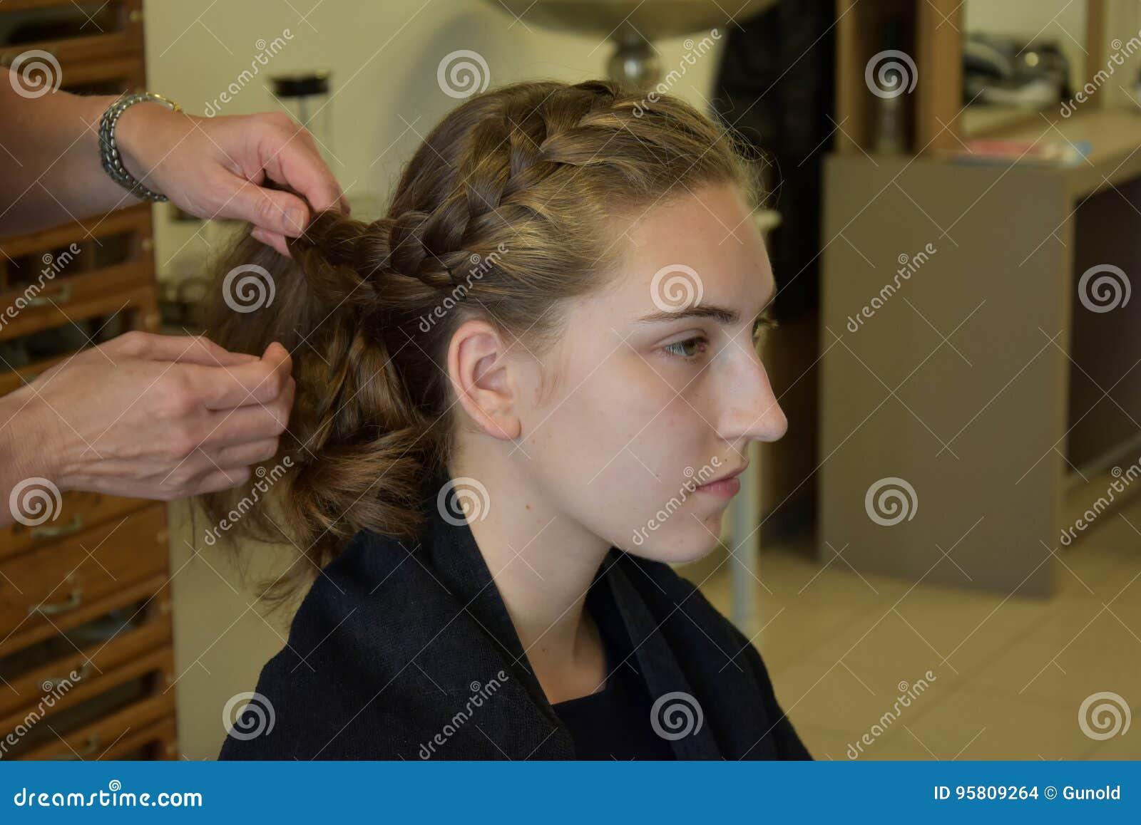 Bij hairdersser