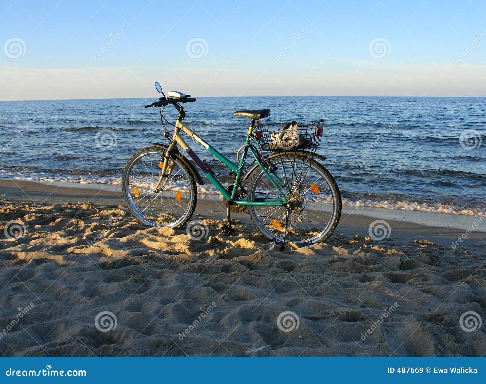 Bike пляжа