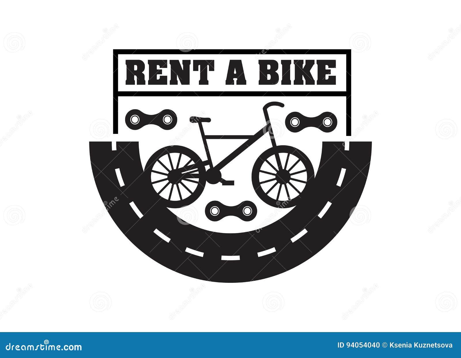 Bike badge vintage style stock vector  Illustration of biker - 94054040