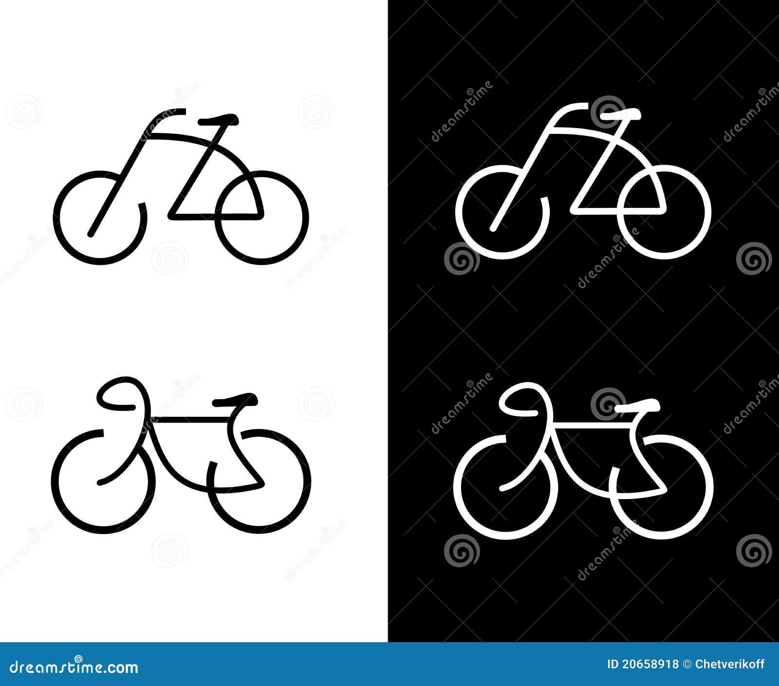 Bike Bicycle Icon Royalty Free Stock Photos Image
