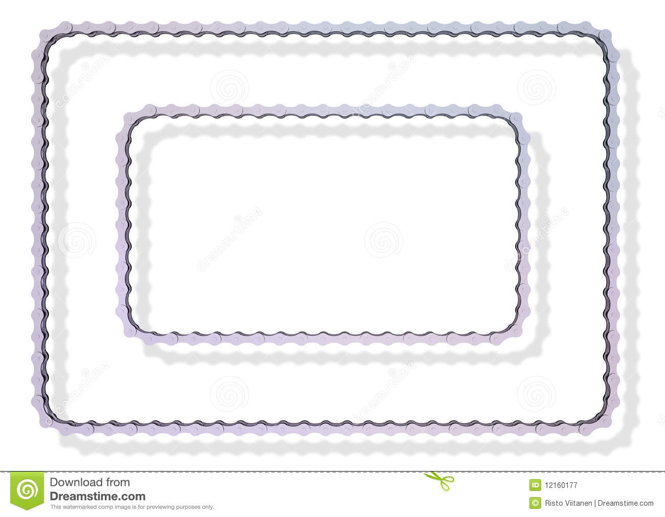 Bike chain frames stock illustration. Illustration of operation ...