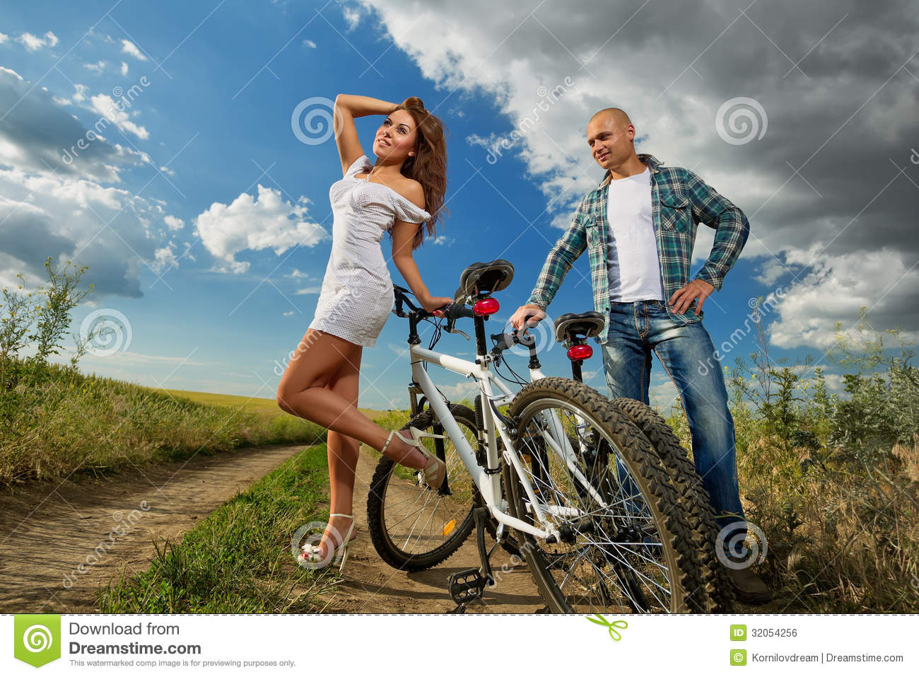Photos bicycle couple on the sex