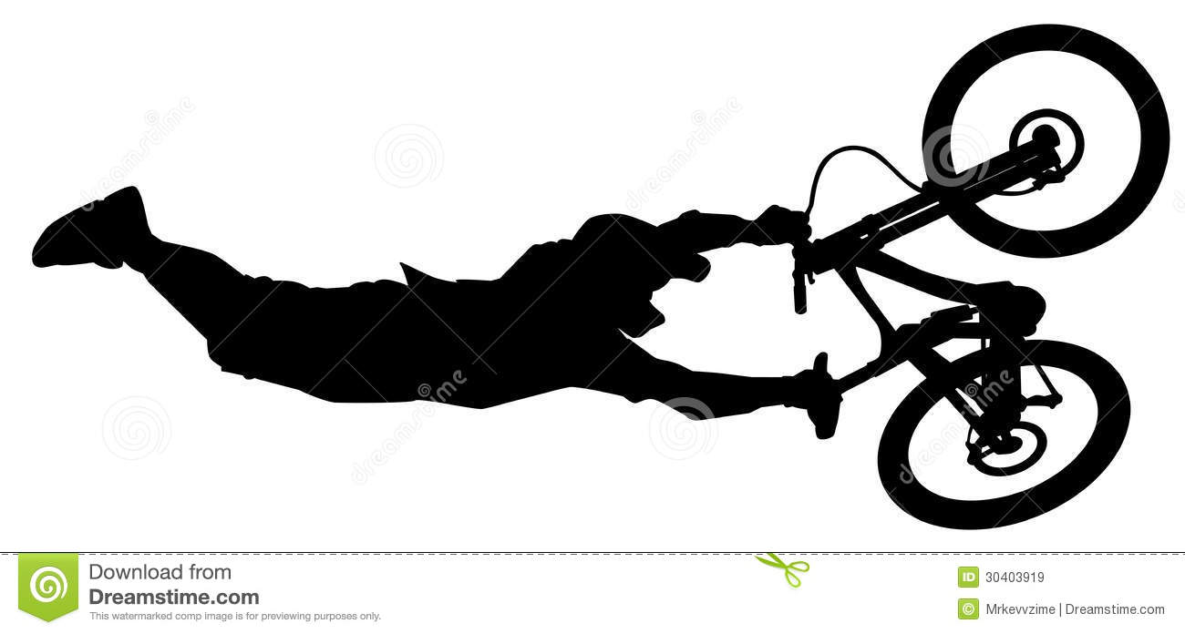 Bike Jump Royalty Free Stock Images Image 30403919
