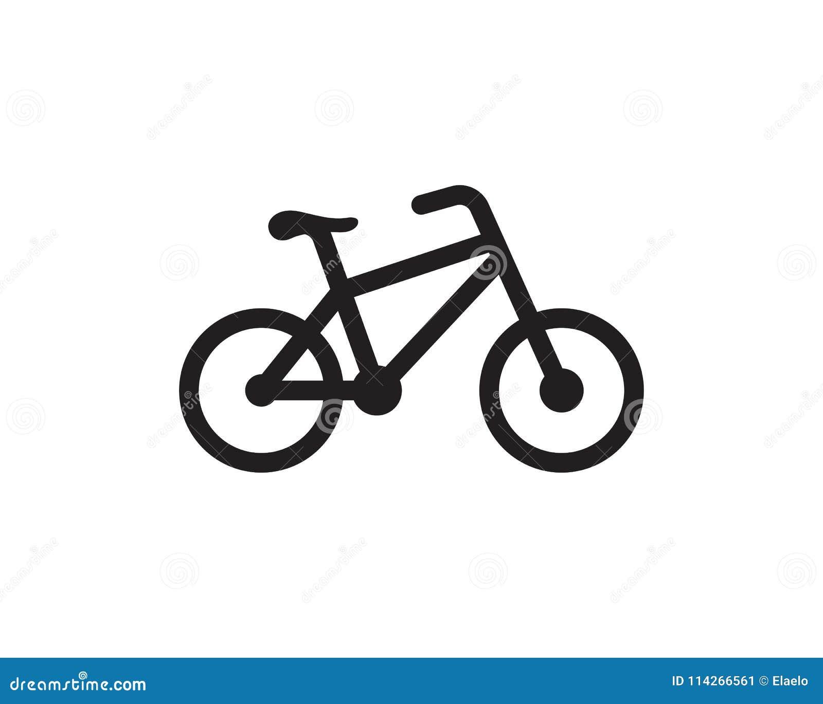 bike logo icon design template stock vector illustration of