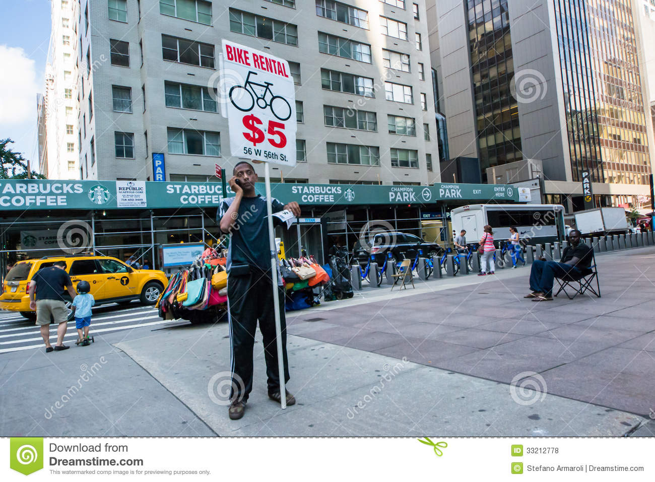 Bike rental editorial stock photo image of scooter for What can you do in new york city