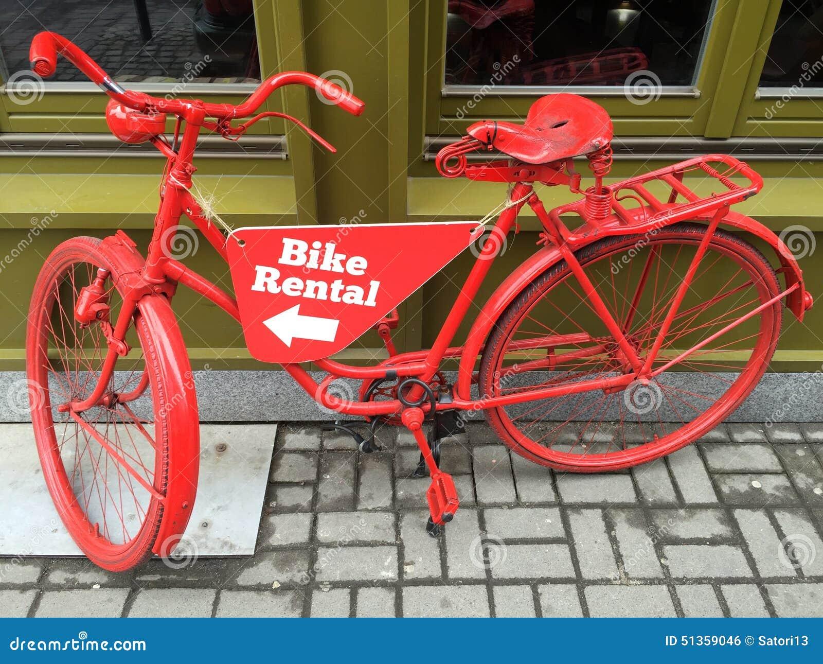 Bike Rental Stock Photo Image 51359046