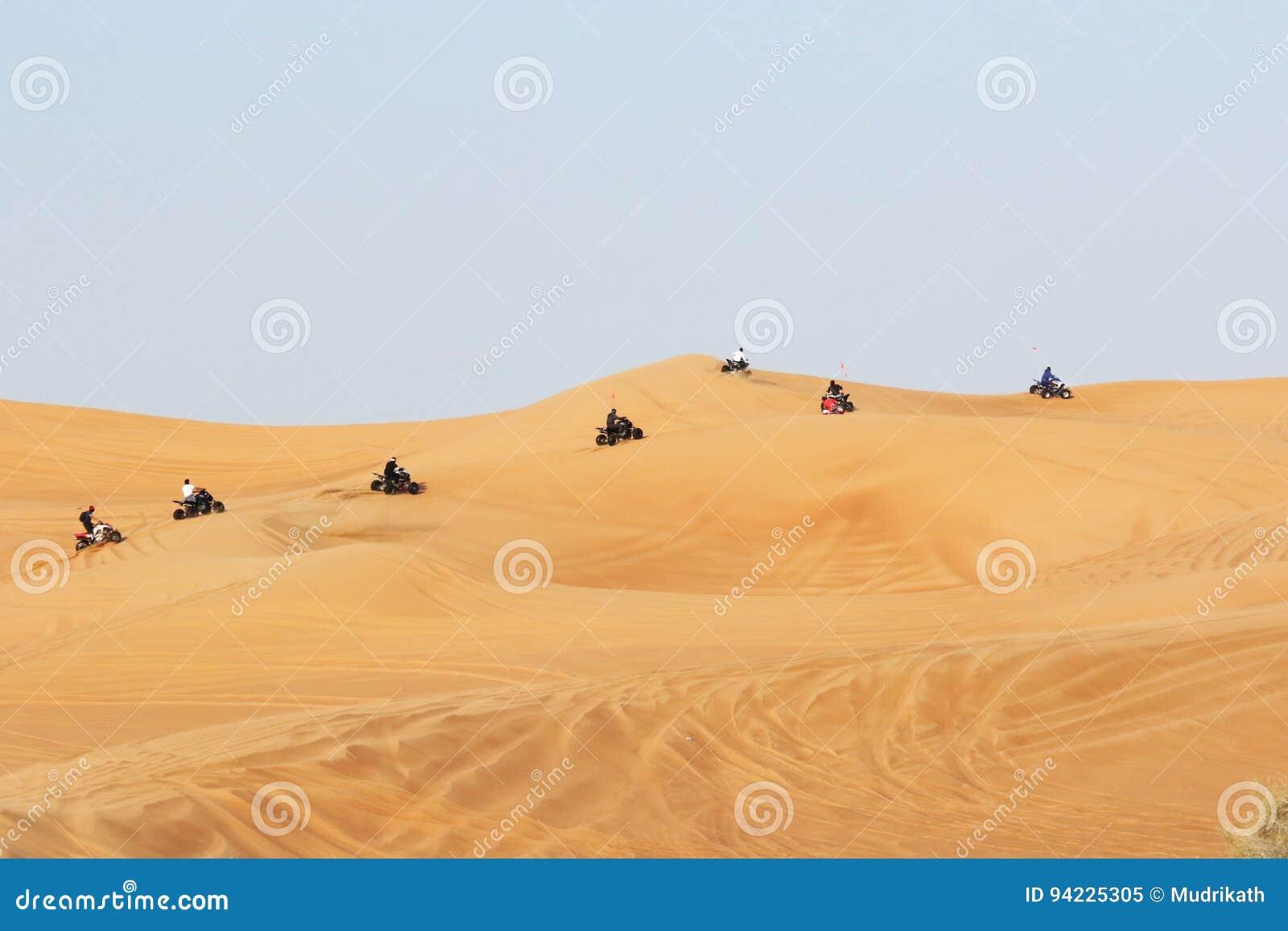 Bike Riding in Dubai Desert Safari