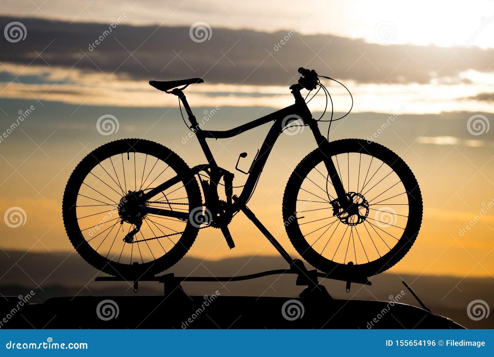 Bike on Roof Rack