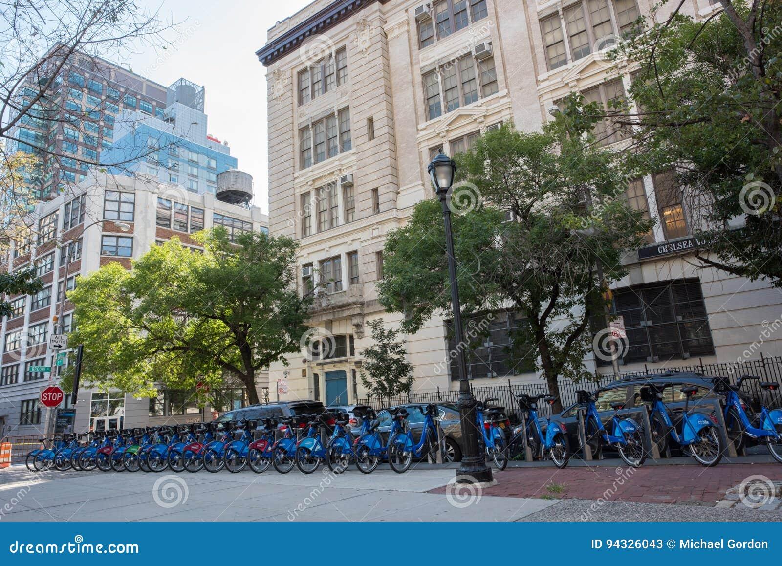 Bike sharing program in NYC