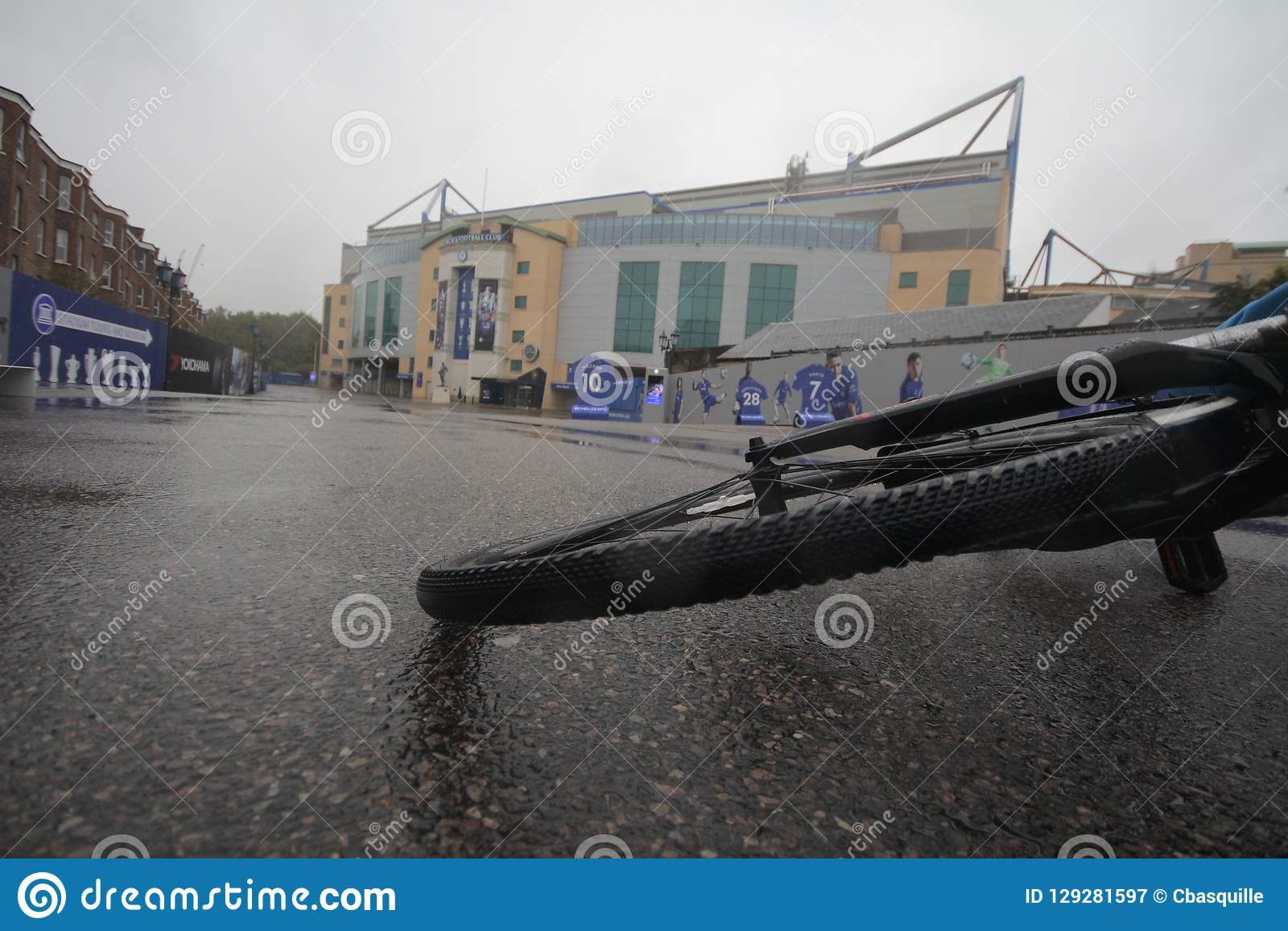 Bike at Stamford Bridge