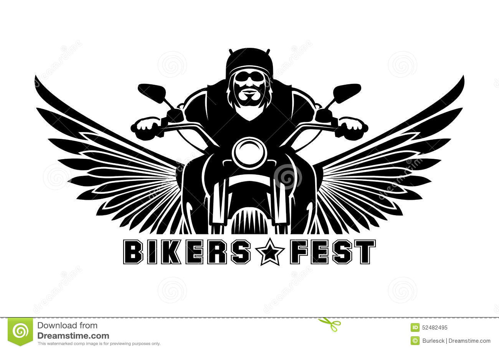 Biker Logo Stock Illustrations 9 757 Biker Logo Stock Illustrations Vectors Clipart Dreamstime