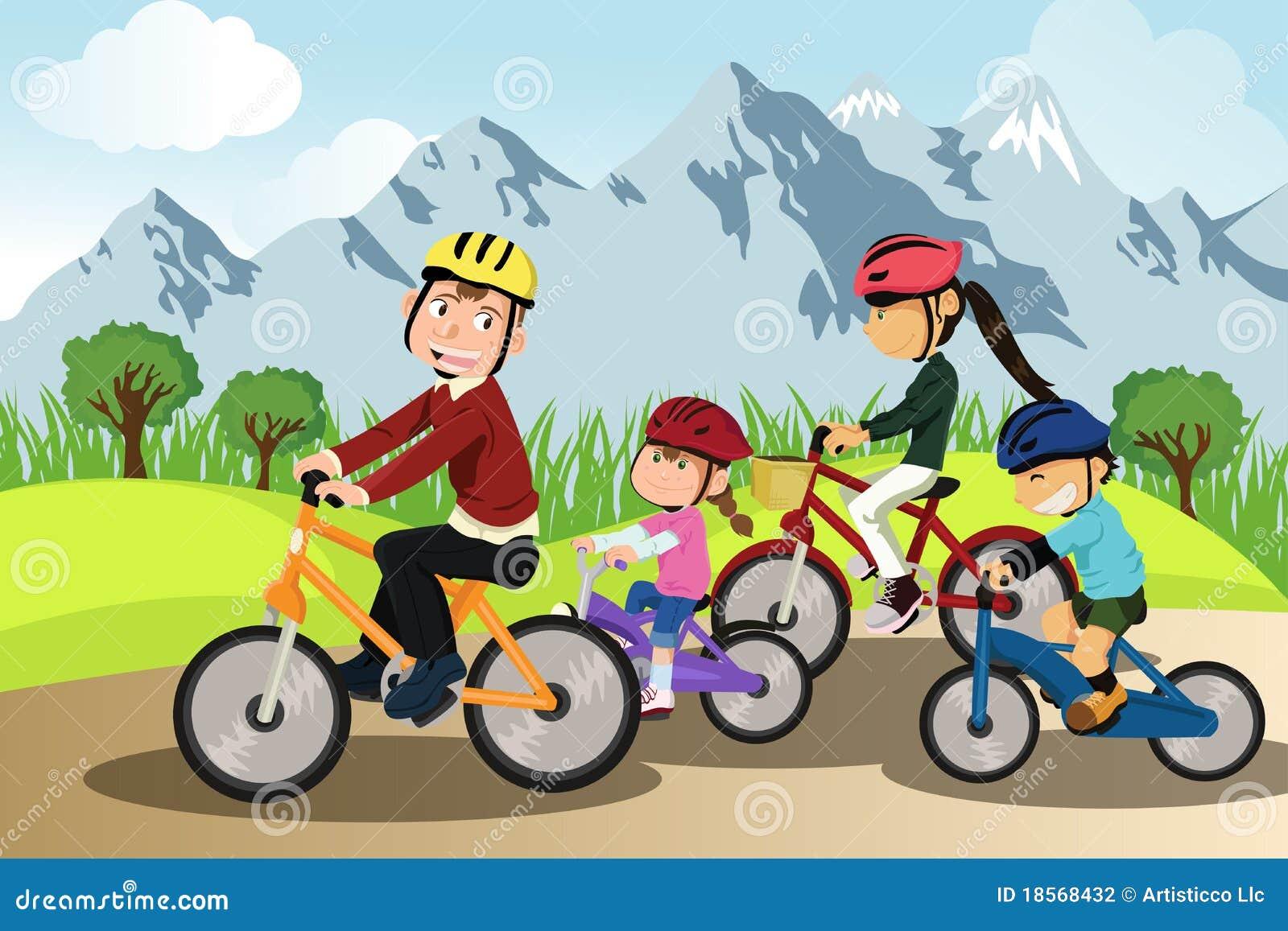 Biking οικογένεια