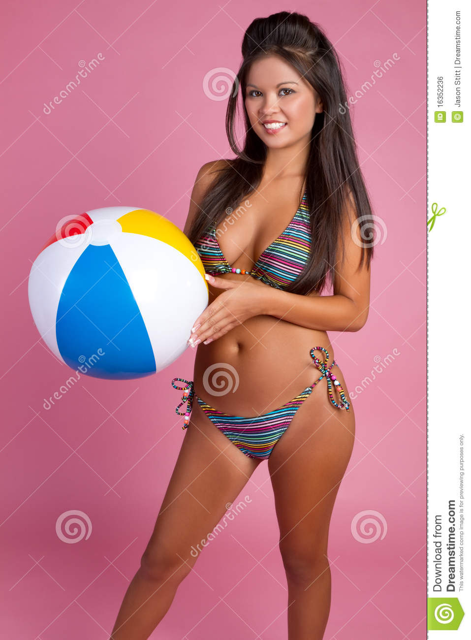 Asian bikini women photo free