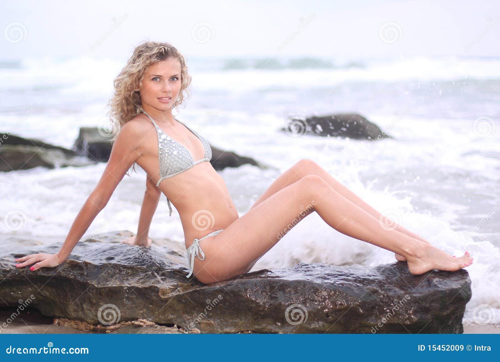 Bikini Sitting 49
