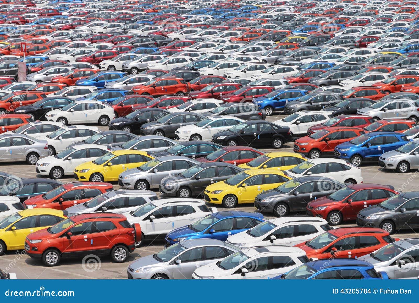 Download Bil redaktionell fotografering för bildbyråer. Bild av fabrik - 43205784