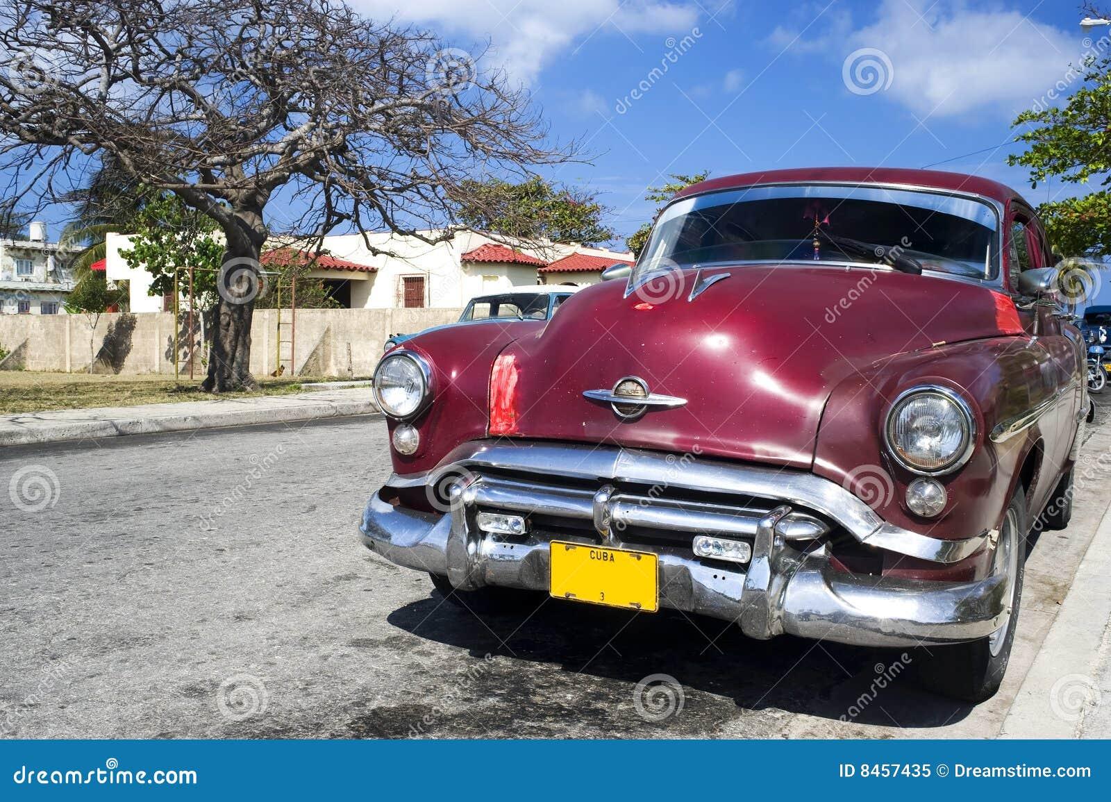 Bil cuba gammala varadero