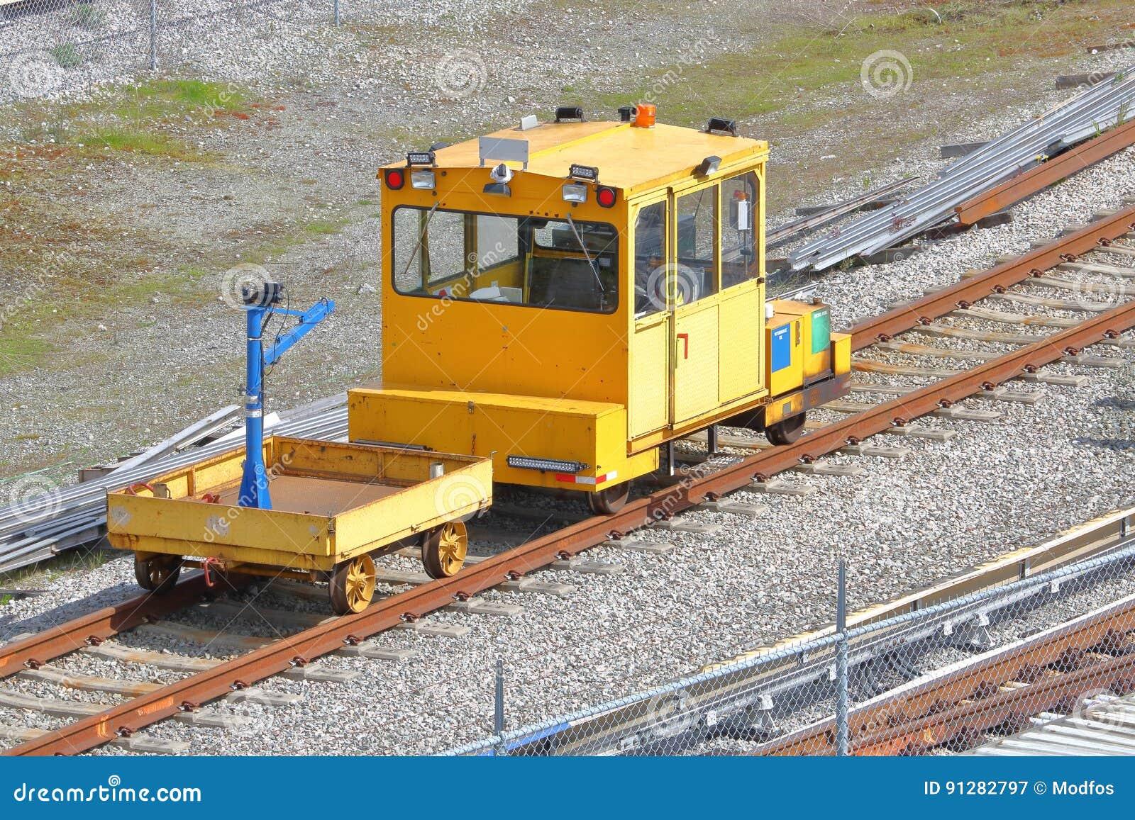 Bil för järnväg service