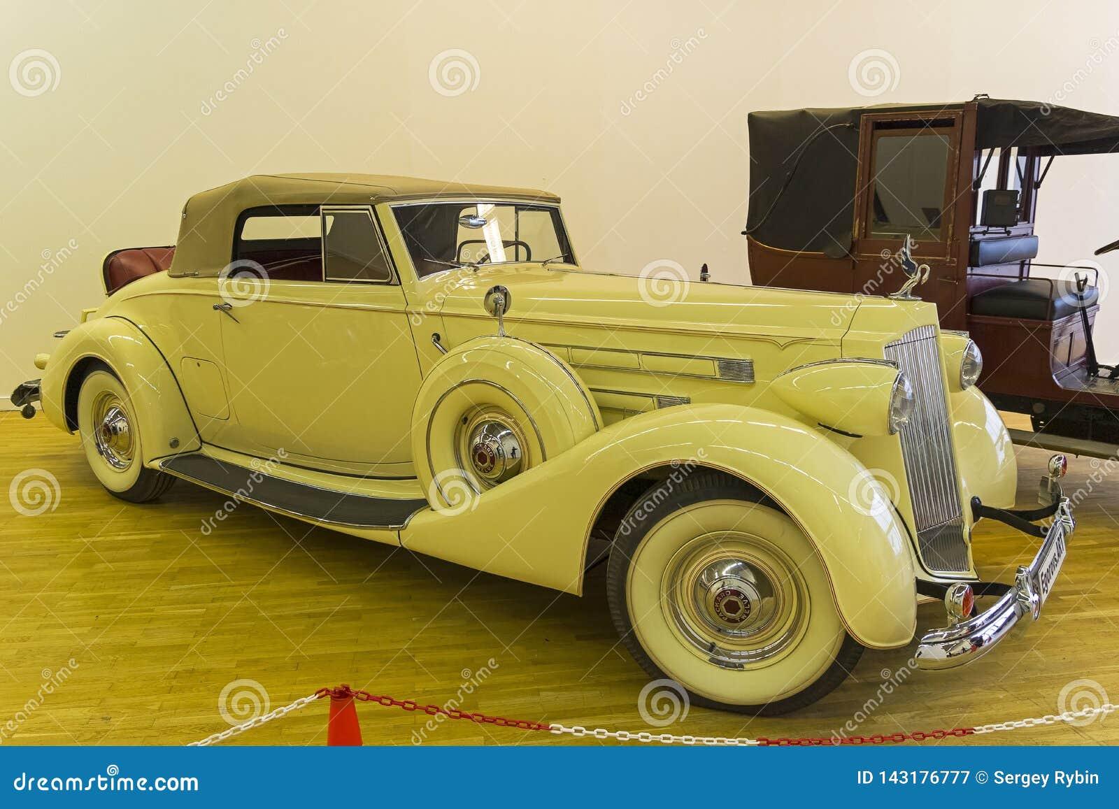 Bil 1039 för modell för Packard tolv serie 1507