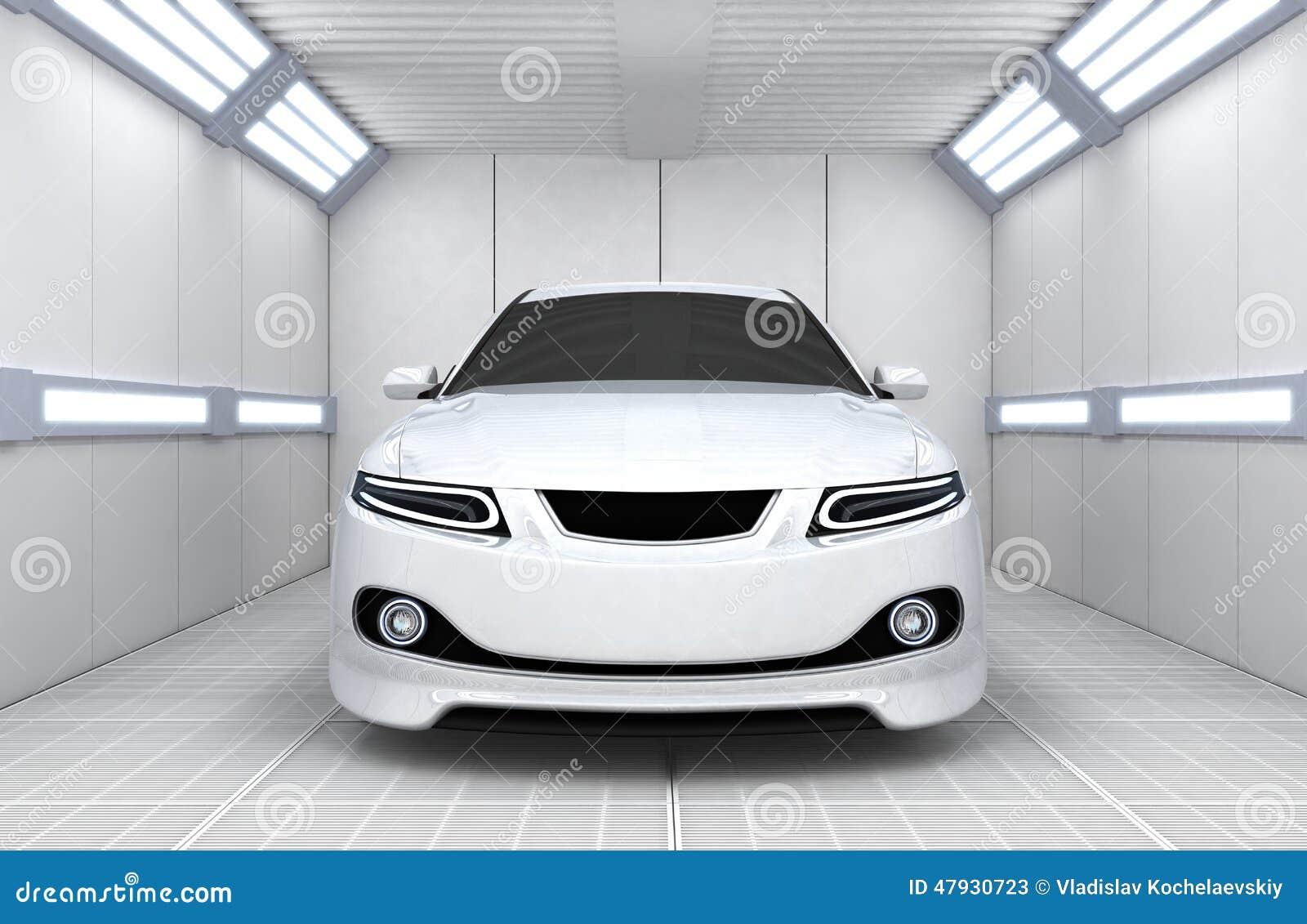 Dejlig Bil i garage stock illustrationer. Illustration av medel - 47930723 UT-26