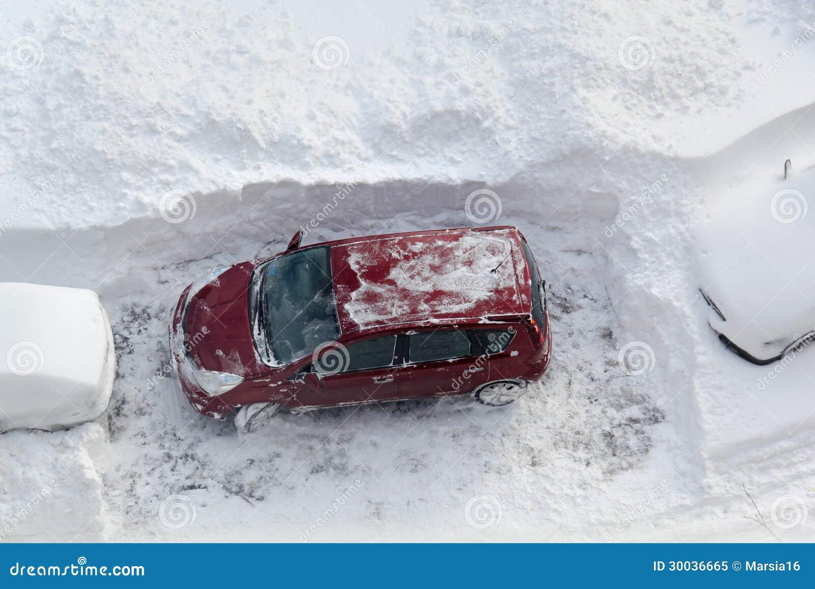 Bil i snow