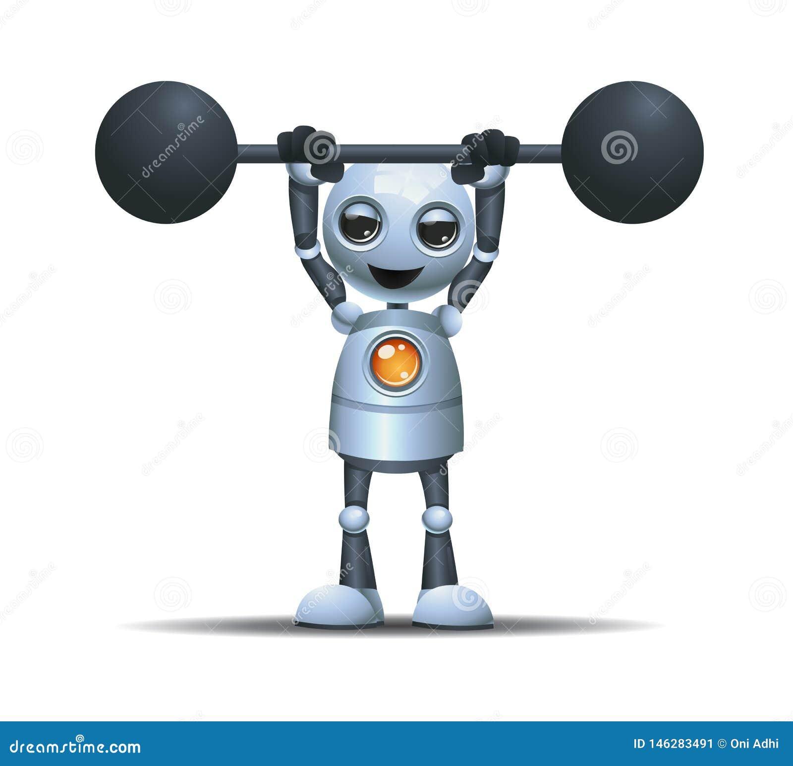 Bilanciere pesante del piccolo ascensore del robot