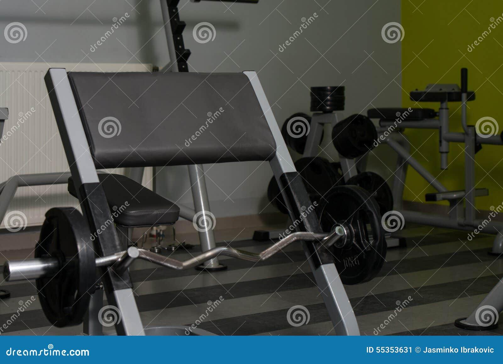 Bilanciere pronto all allenamento