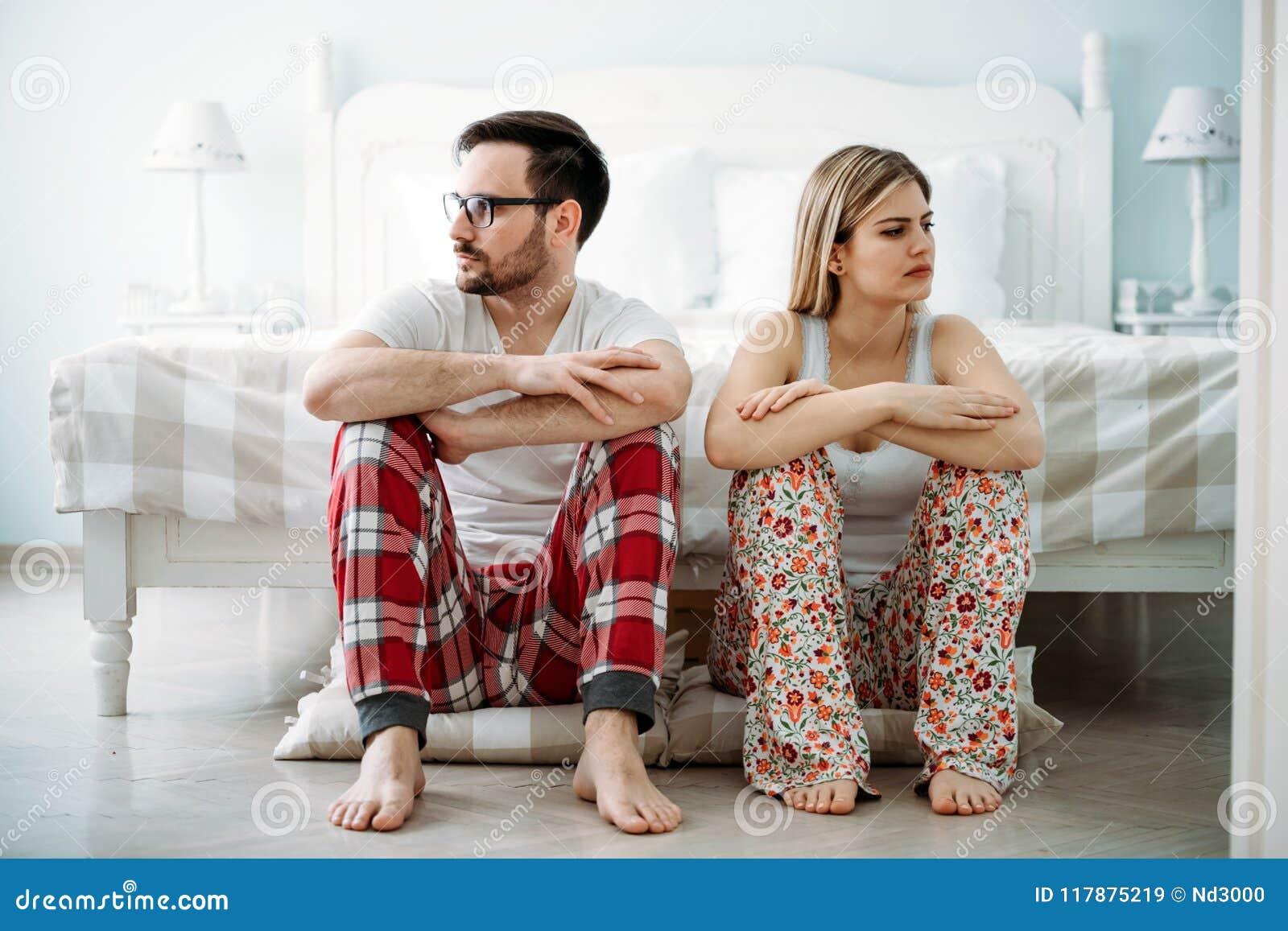 Bild av barnpar som har förhållandeproblem