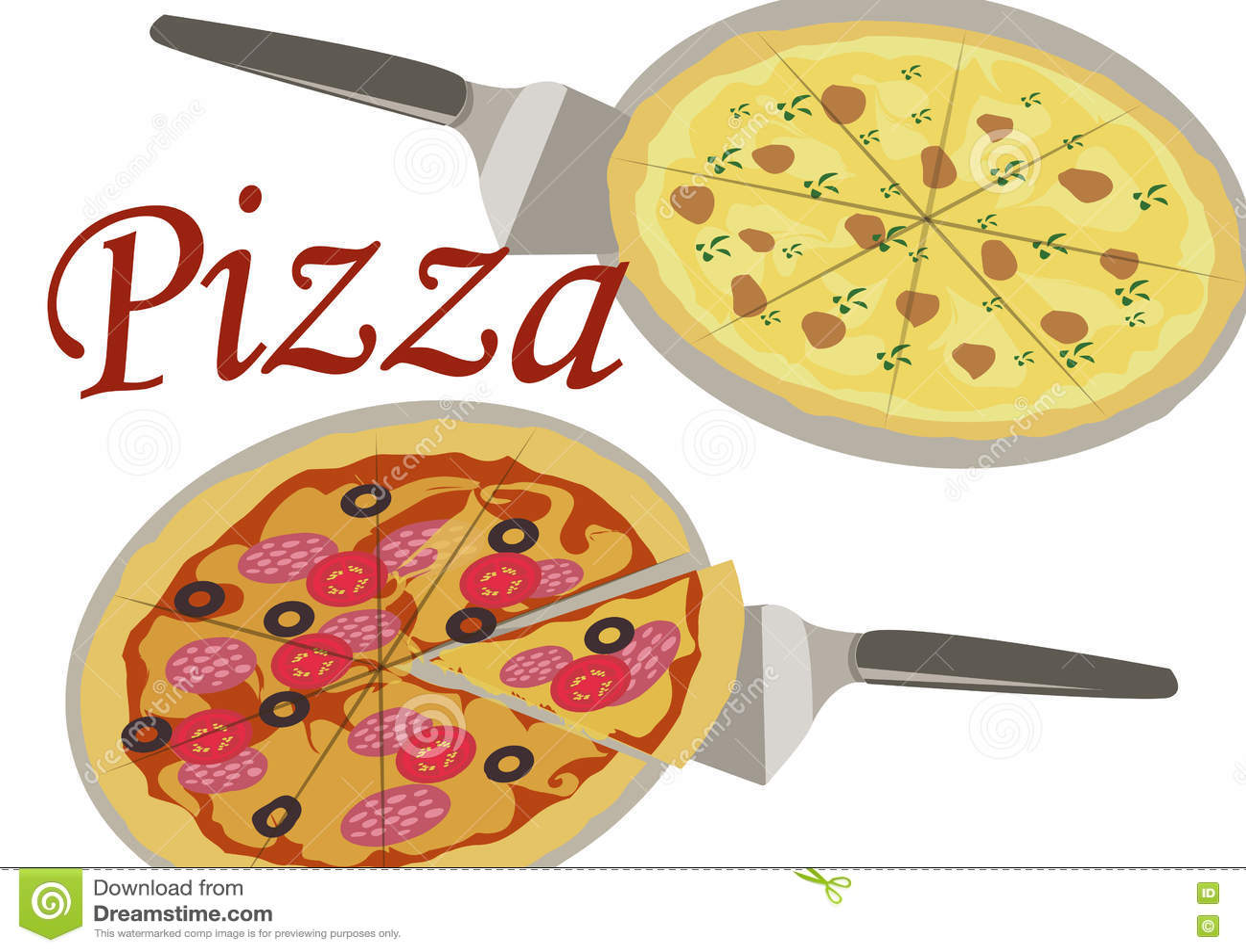 Bild av pizza