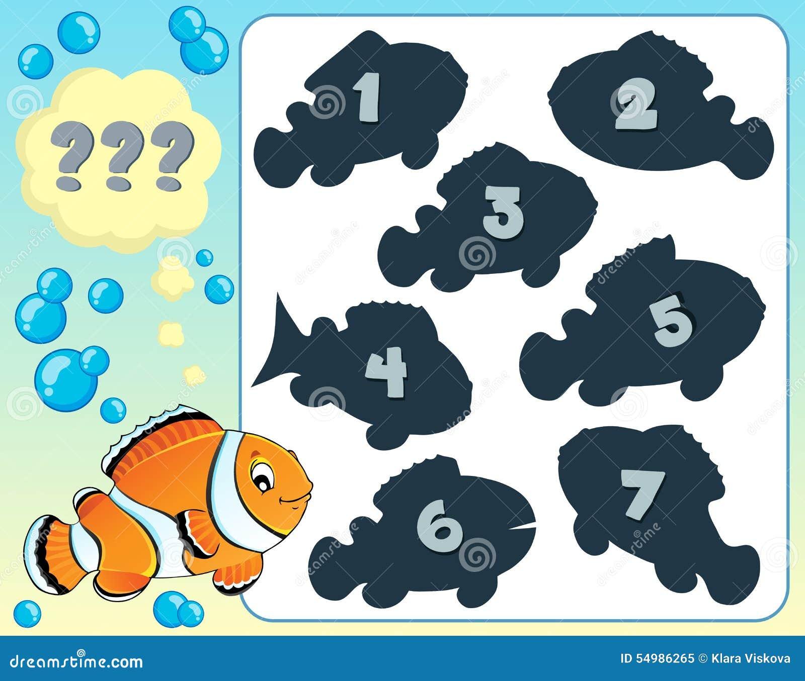 Bild 8 för fiskgåtatema