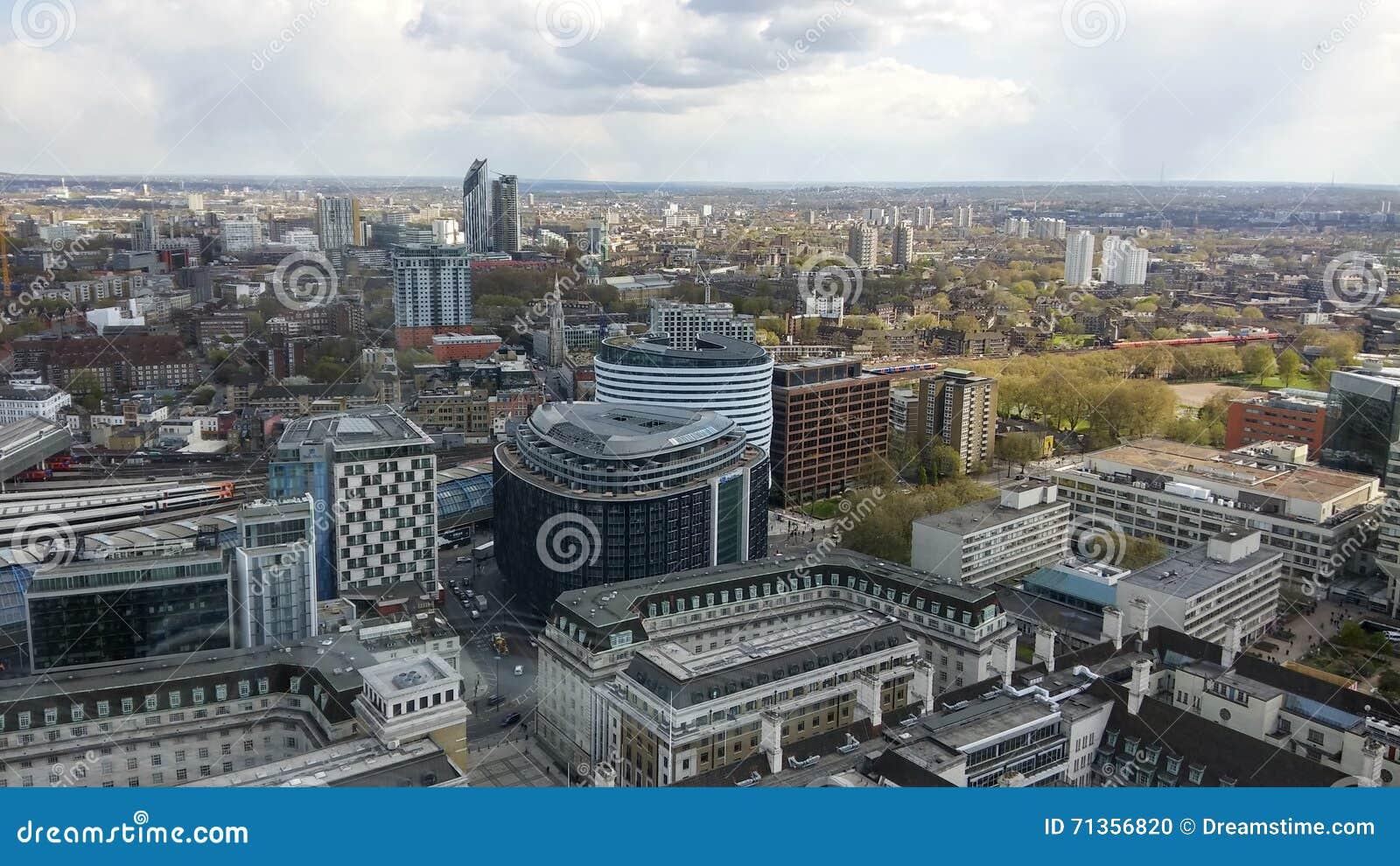 Bild från det London ögat