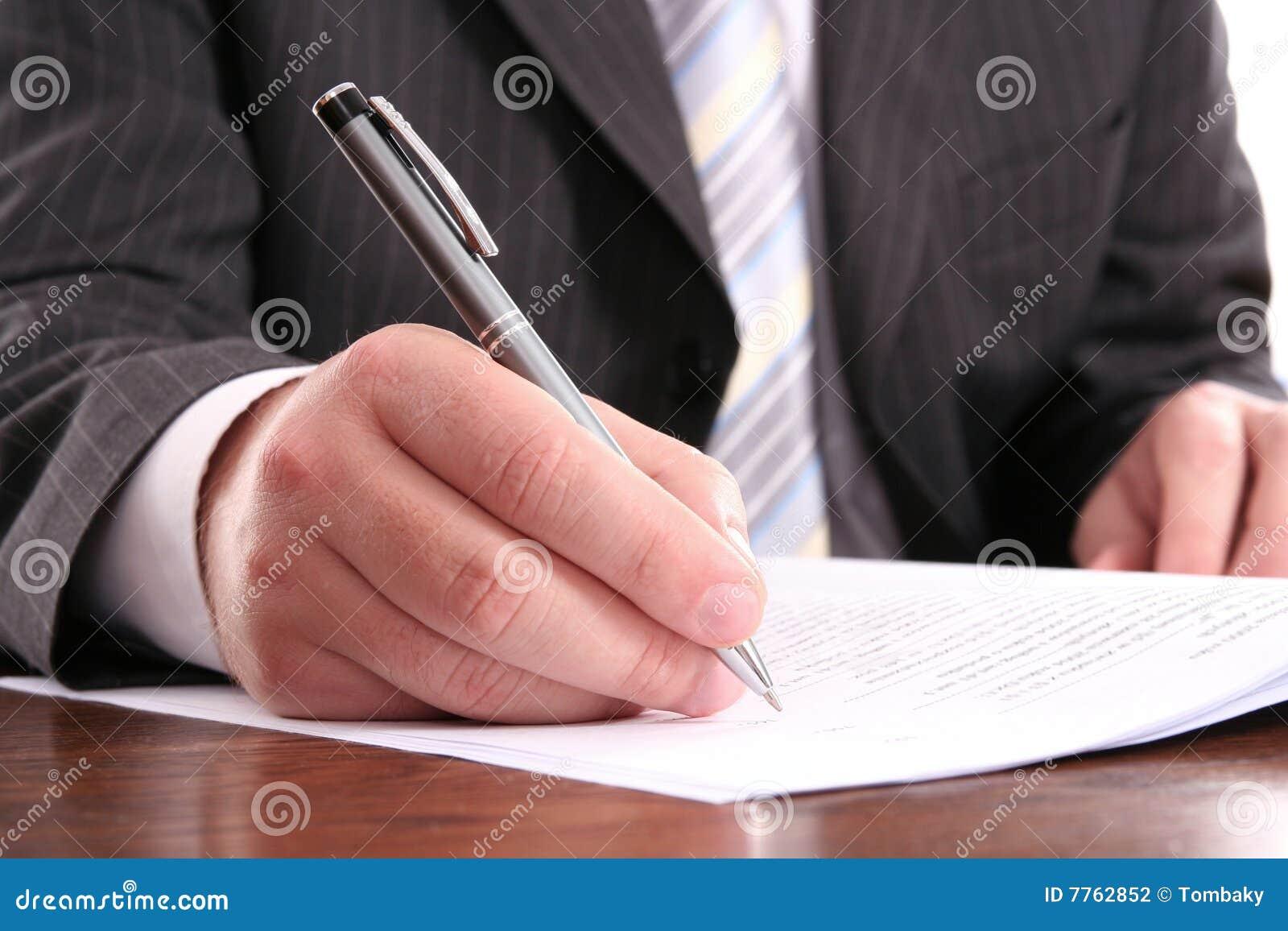 Bilda official writing