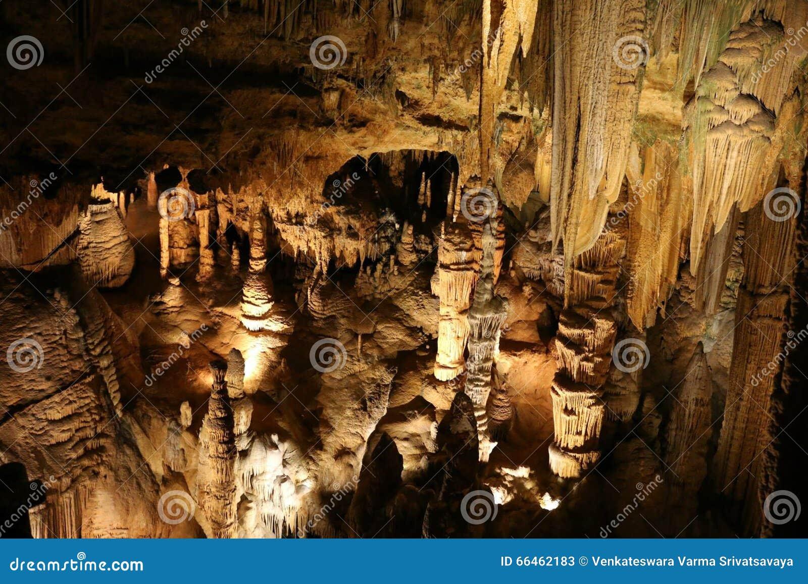 Bildande i Luray Caverns Virginia