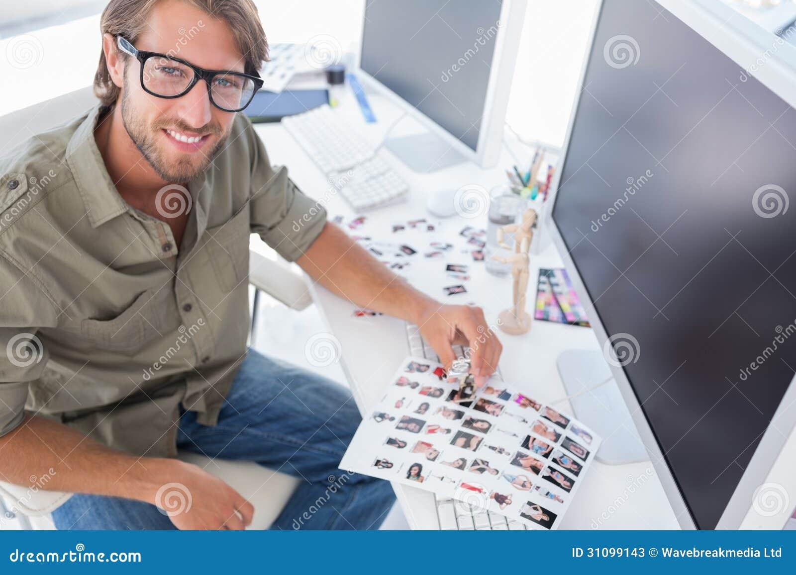 Bildeditor der oben von seiner arbeit schreibtisch for Schreibtisch von oben