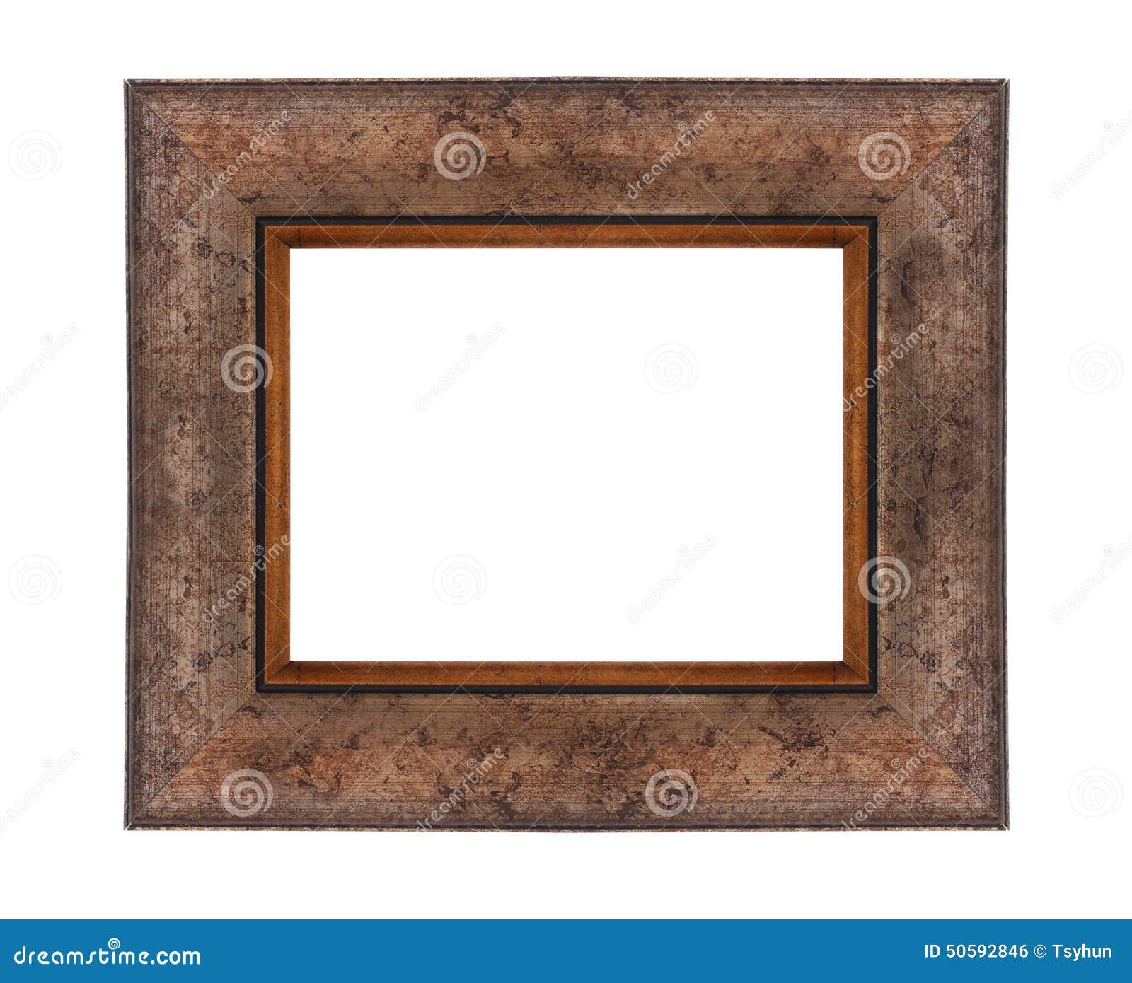 Bilderrahmen aus Holz stockfoto. Bild von spiegel, halterung - 50592846
