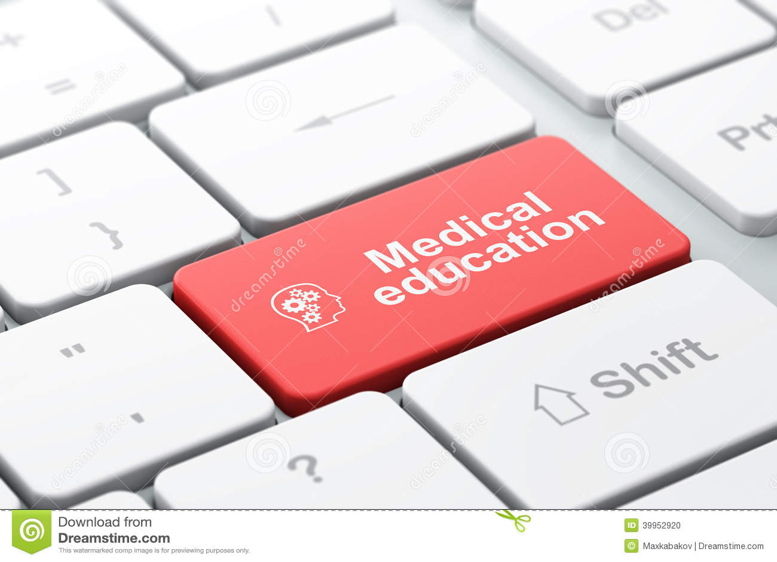 Download Bildungskonzept: Gehen Sie Mit Gängen Und Medizinischer Bildung Auf Baut. Voran Stock Abbildung - Illustration von ausbildung, gang: 39952920