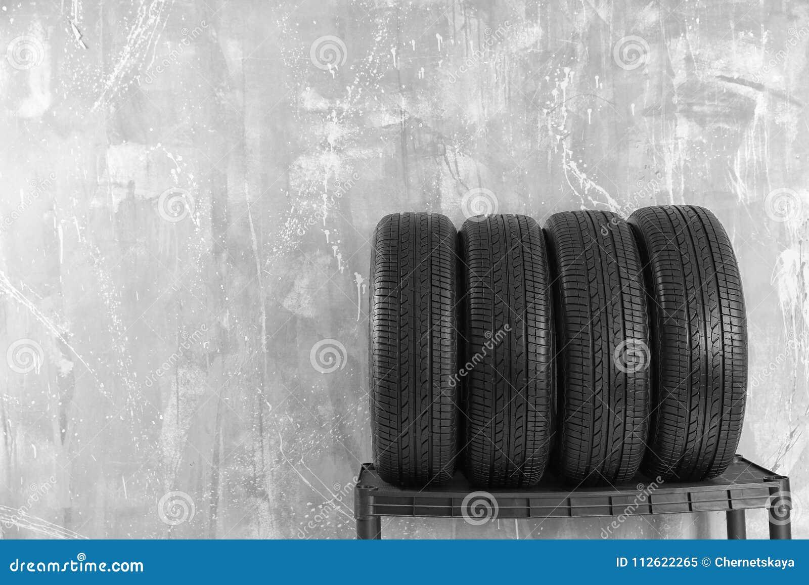 Bilgummihjul på