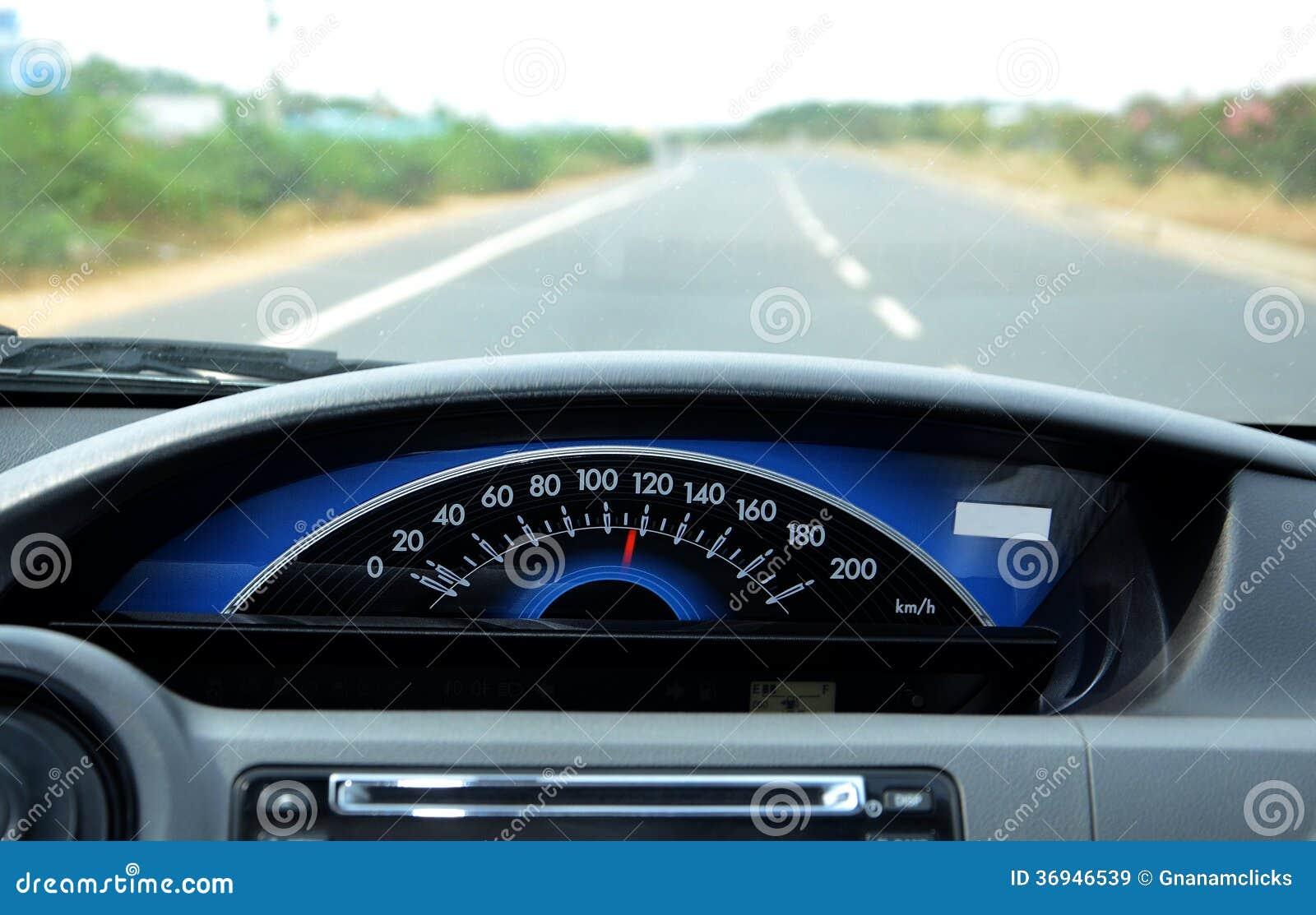 Bilhastighetsmätare