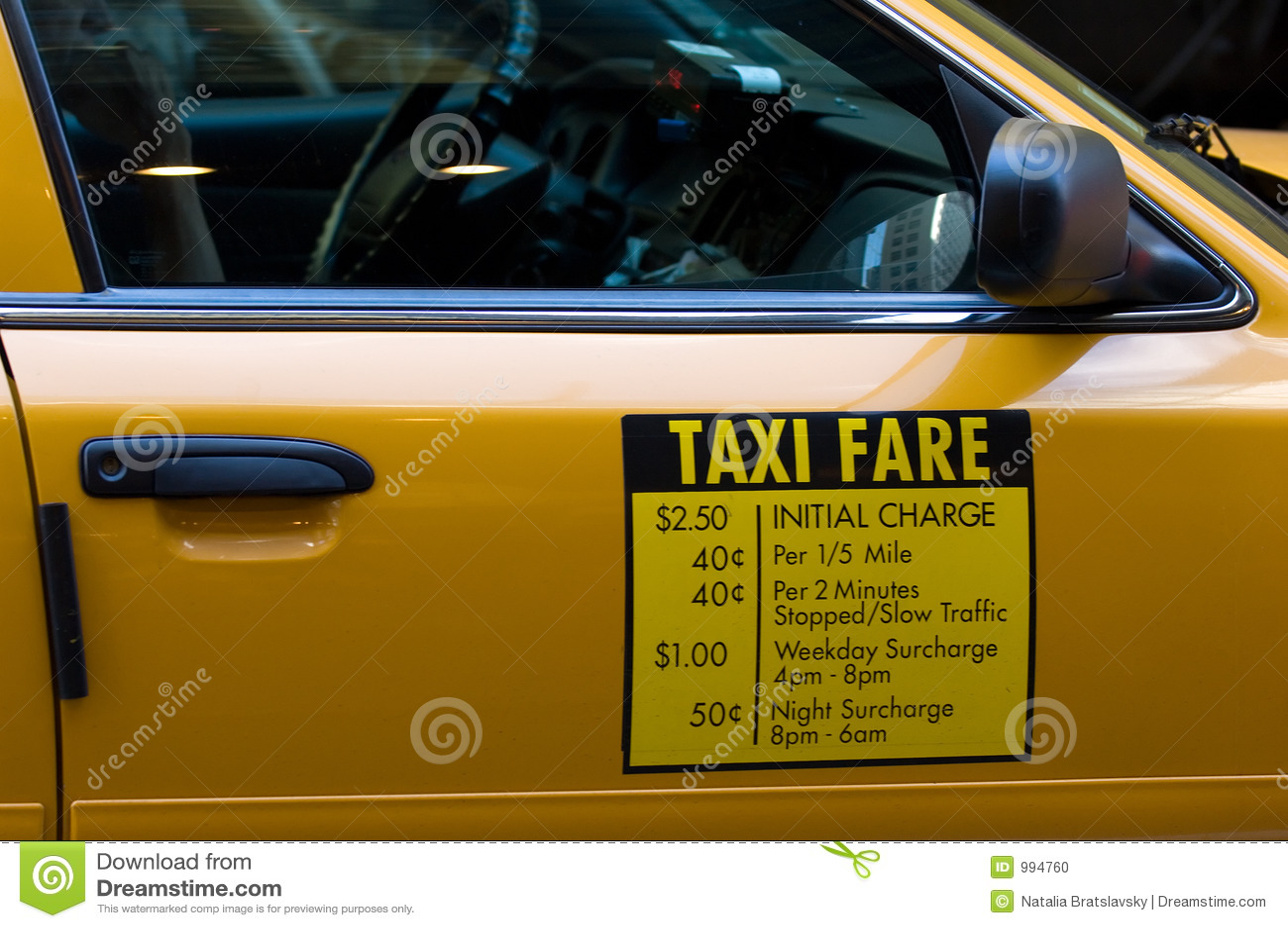 Biljettprisen taxar