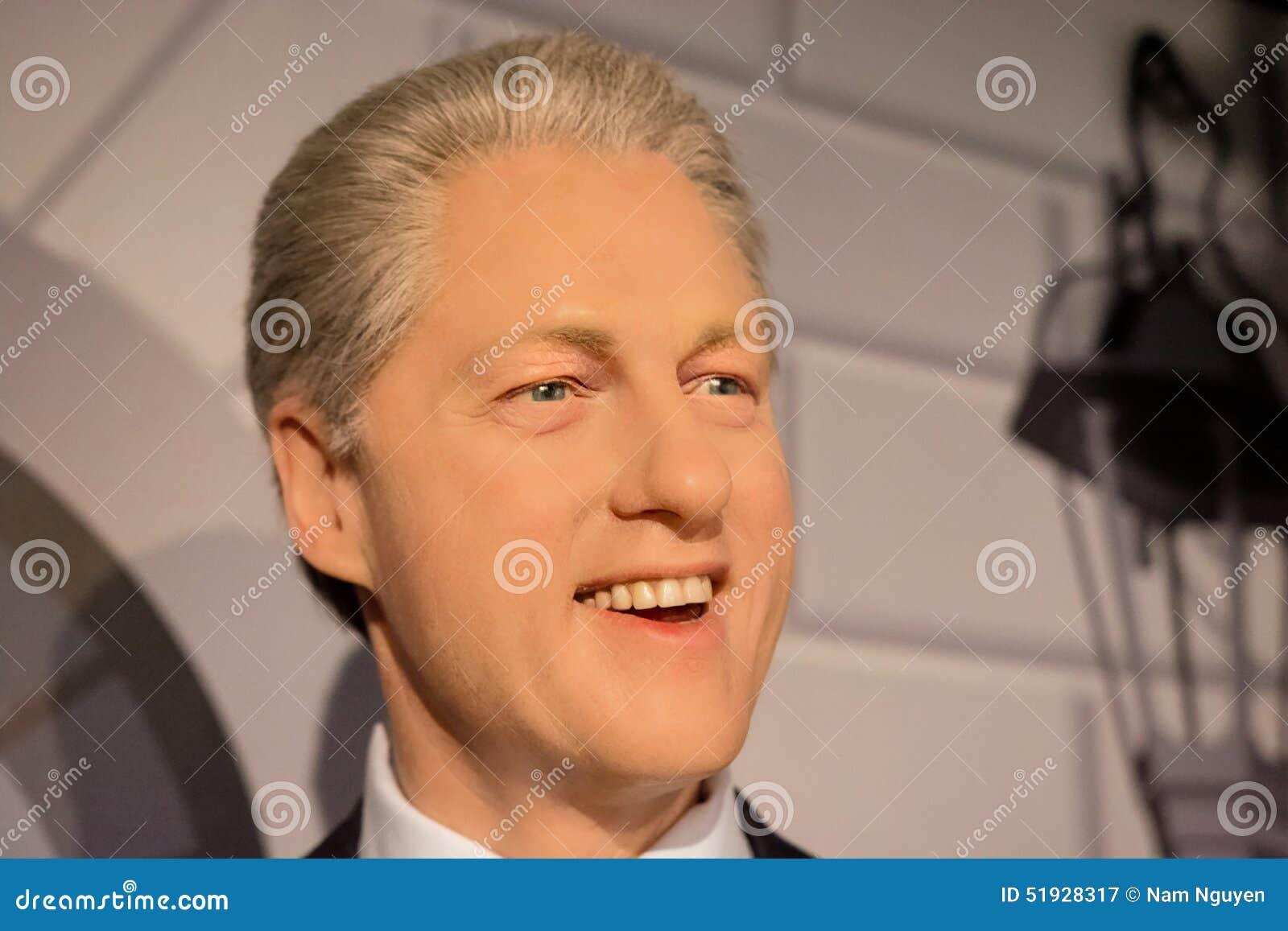 Bill Clinton Wax Figure